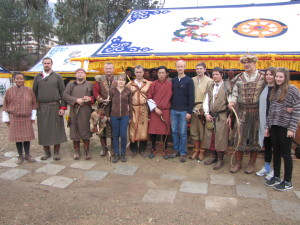 Group photo Thimphu archery match